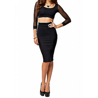 Amazoncom crop and skirt set