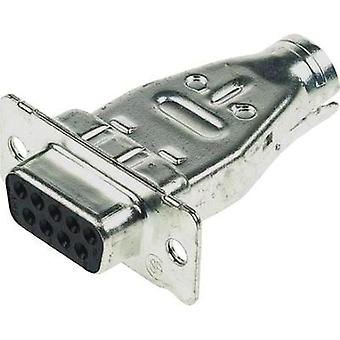 D-SUB receptacles 180 ° Number of pins: 9 TE Connectivity