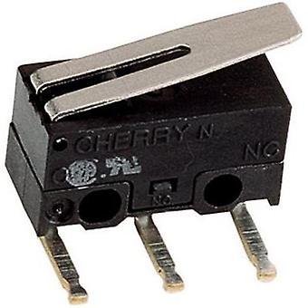 Microswitch 125 Vac 3 A 1 x On/(On) Cherry Switches DG13-B3LA Control unit: IP40/connections: IP00 momentary 1 pc(s)