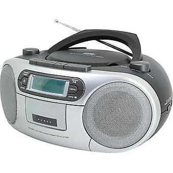 DAB+ Radio/CD SoundMaster SCD7900 AUX, CD, DAB+, Tape, FM, USB Black