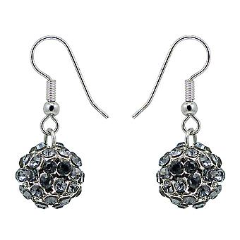 Crystal Mesh Ball Earrings EMB112.8