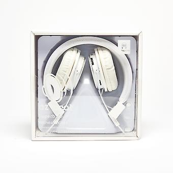 Super Sound Wireless Earphone 4 in 1 Headset - White