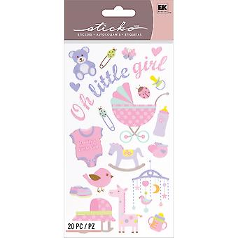 Sticko Stickers-Oh Little Girl E5200062