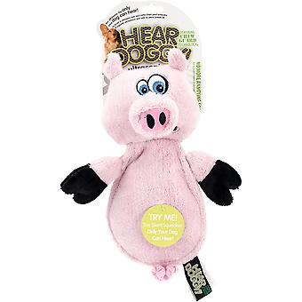 Hear Doggy Flattie With Chew Guard-Pig 770301