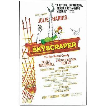 Pilvenpiirtäjä (Broadway) elokuvajuliste (11 x 17)