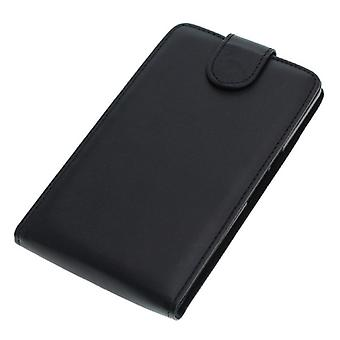 OTB bag (leather) for Google nexus 6 Flipcase black