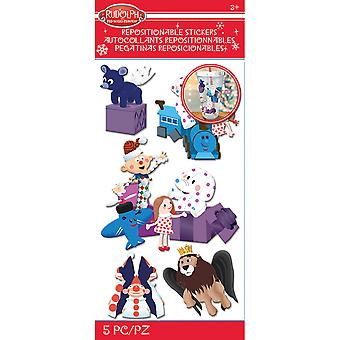 Rudolph The Red Nosed Reindeer Stickers-Misfit Toys E5306014