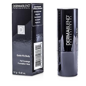 Dermablend Quick Fix Body Full Coverage Foundation Stick - Almond 12g/0.42oz