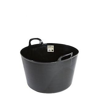 73lt Builders Flexi Tub Black Bucket Flexible Plastic