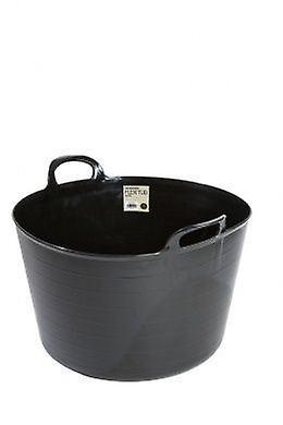 73lt Builders Flexi Tub Black Bucket Flexible Plastic