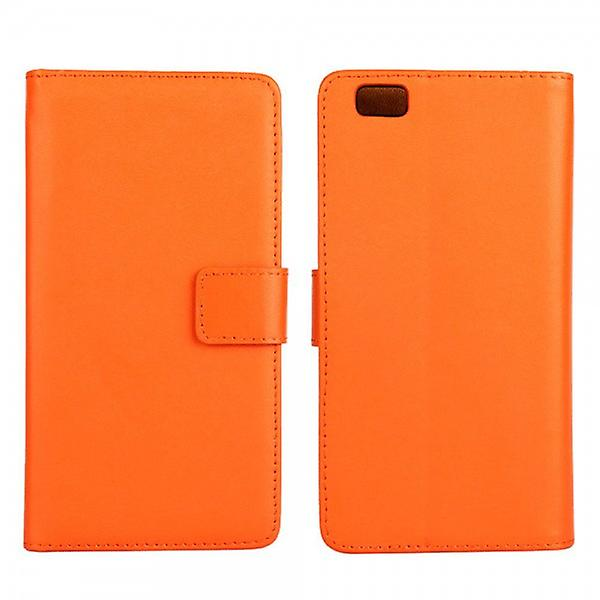 Pocket wallet Deluxe Orange for Huawei Ascend P8 Lite