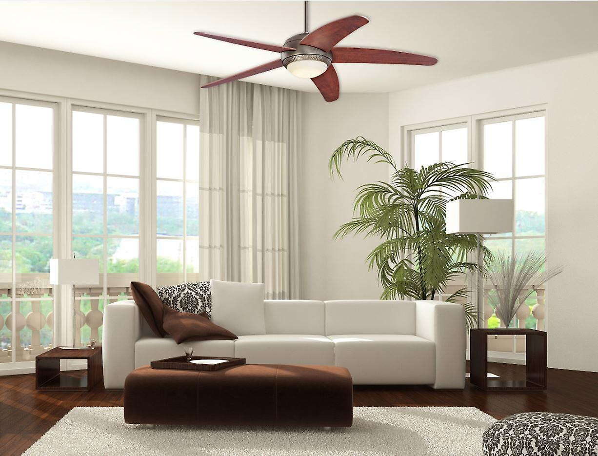 ventilateur de plafond westinghouse bendan applewood avec lumi re led fruugo. Black Bedroom Furniture Sets. Home Design Ideas
