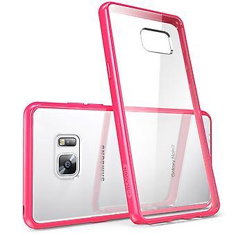 i-Blason-Galaxy-Note 7 Case-Halo Case-Clear/Pink