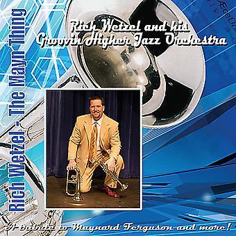 Rich Wetzel - Mayn Thing [CD] USA import