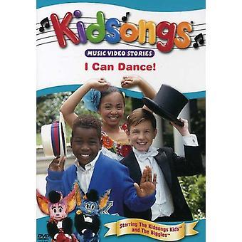 Kidsongs - jeg kan danse [DVD] USA importerer