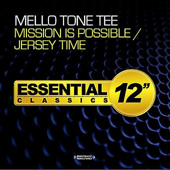 Mello Tone Tee - Mission Is Possible / Jersey Time [CD] USA import
