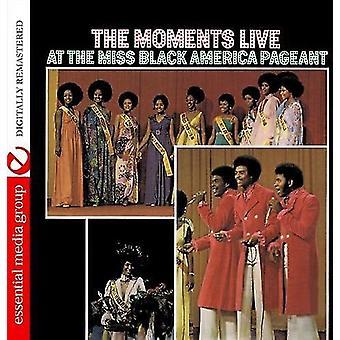 Øyeblikk - Live på Miss Black America Pageant [DVD] USA import
