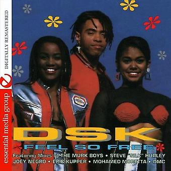 DSK - känsla så gratis [CD] USA import