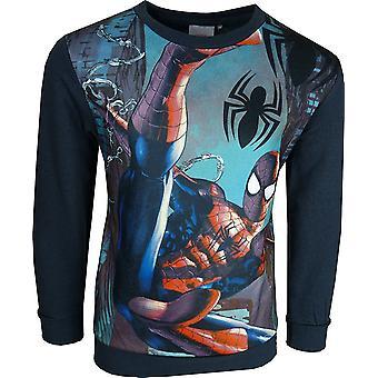 Marvel Spiderman garçons Crewneck Sweatshirt / cavalier PH1071