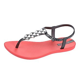 Ipanema Cleo Womens Flip Flops / Sandals - Coral Silver