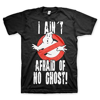 Ghostbusters  I Aint Afraid Of No Ghosts  Mens  Tshirt