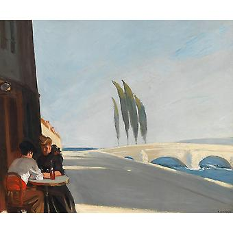 Edward Hopper - The Wine Shop Poster Print Giclee