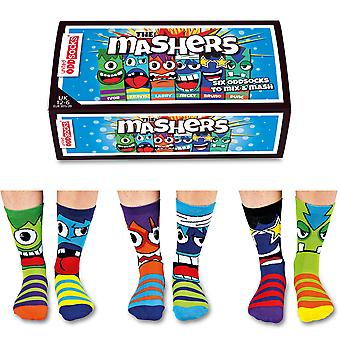 United Oddsocks Mashers Gift Set For Boy's
