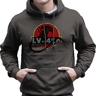 Acheron LV sudadera con capucha 426 Xenomorph Alien Jurassic Park hombres