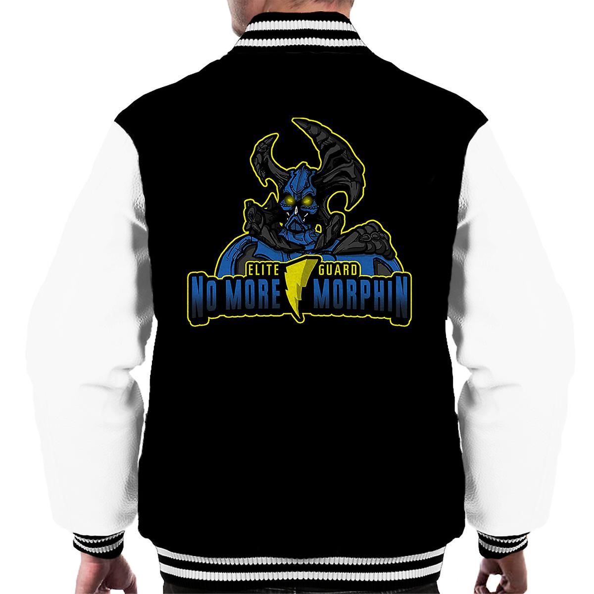No More Morphin Matacore Power Rangers Men's Varsity Jacket