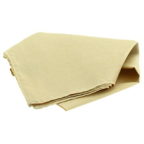 David Van Hagen Satin Silk Handkerchief - Ivory