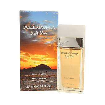Dolce & Gabbana Light Blue Sunset in Salina Eau de Toilette Spray 25ml