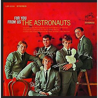 Astronauts - For You From Us [CD] USA import