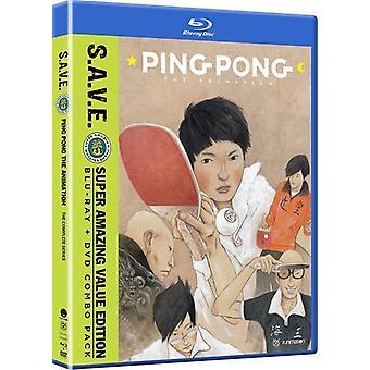 Ping Pong de la animación: serie completa - excepto la importación de los E.e.u.u. [Blu-ray]