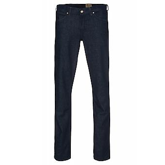 Wrangler broek heren stretch jeans Greensboro blauw