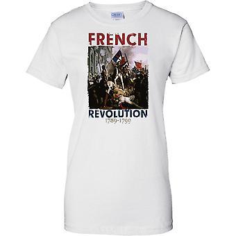 Franse revolutie 1789-1799-T damesshirt