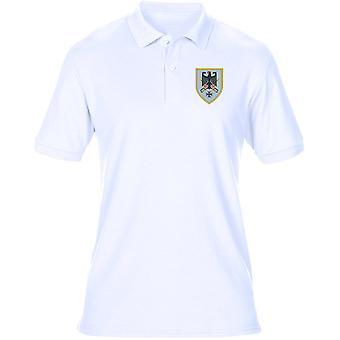 Kommando Heer tyska armén befaller broderad Logo - Mens Polo Shirt