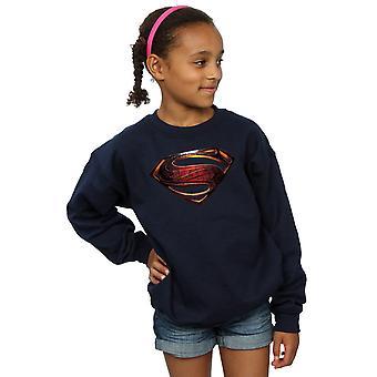 DC Comics piger Justice League film Superman Emblem Sweatshirt