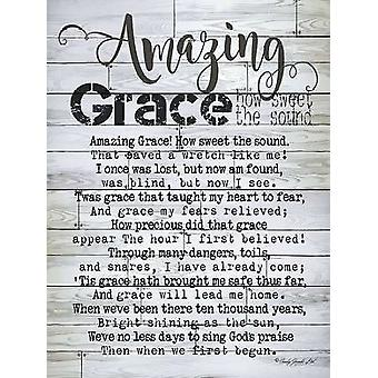 Amazing Grace Poster Print by Cindy Jacobs (12 x 16)