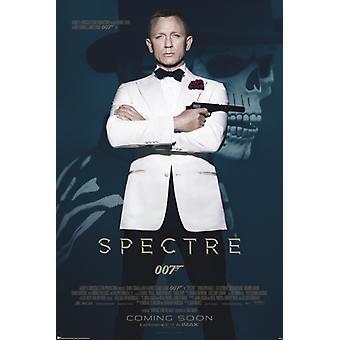 James Bond - Spectre - Skull Poster Poster Print