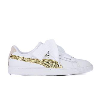 Puma Basket Heart Glitter 36407801   women shoes