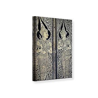 Canvas Print Temple Door