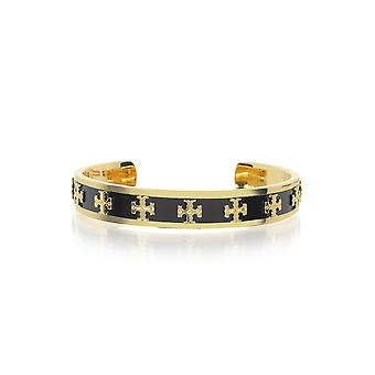 Tory Burch women's 37676010 black metal bracelet