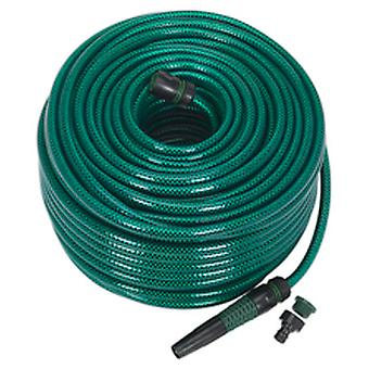Sealey Gh80R Water Hose 80Mtr With Fittings