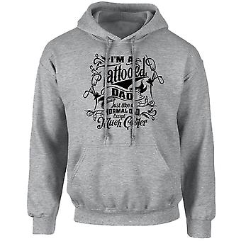 I'm a Tattooed Dad Except Much Cooler Unisex Hoodie 10 Colours (S-5XL) by swagwear