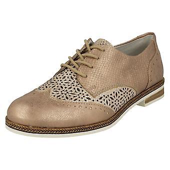 Ladies Remonte Brogue Shoes D2601