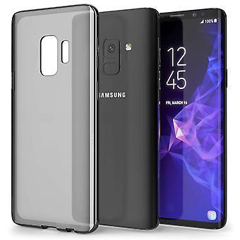 Samsung Galaxy S9 TPU Gel sag - røg sort