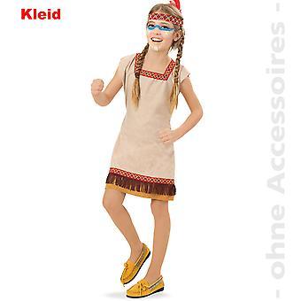 Индейский костюм ребенка Скво дети костюм Apachin индийский костюм