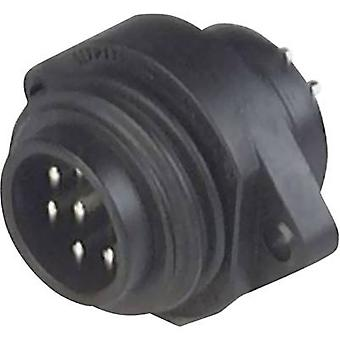 Hirschmann 932 326-100 CA 6 GS CA Series Mains Voltage Connector Nominal current (details): 10 A/AC/DC Number of pins: 6