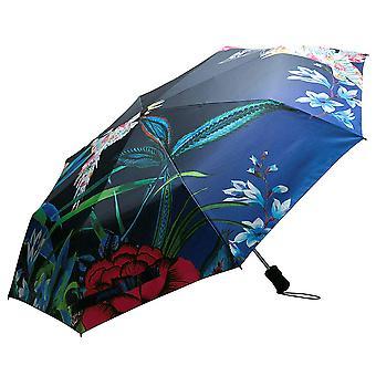 Automatische paraplu Desigual opvouwbare paraplu umbrella vogel Palm 18SAZW07/5001