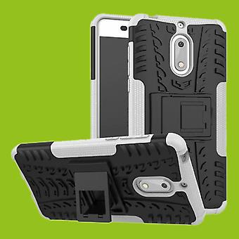 For Nokia 3.1 5.2 inch 2018 hybrid case 2 piece SWL outdoor white accessories bag case cover protection
